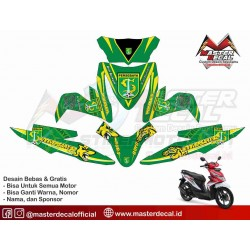 Stiker Motor All New Beat...