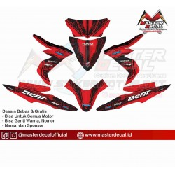 Stiker Motor All Bew Beat...