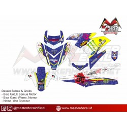 Stiker YAMAHA MX KING Ken...