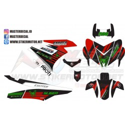 Stiker Yamaha Mx King Decal...