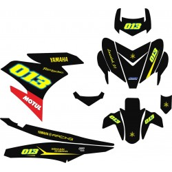 Stiker YAMAHA MX KING vr46...