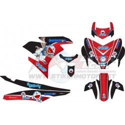 Stiker YAMAHA MX KING 150...