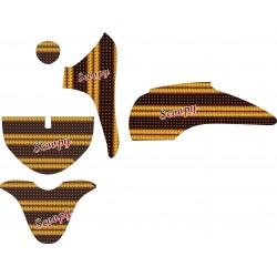 Stiker Motor Scoopy Batik...
