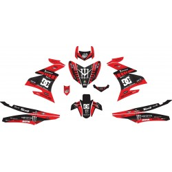 Stiker Yamaha Mx King Dc Fox
