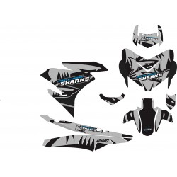 Stiker YAMAHA MX KING Shark V2