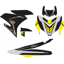 Stiker YAMAHA MX KING Black...