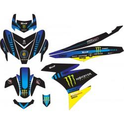 Stiker Yamaha Mx King...