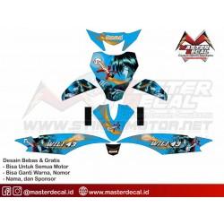 Stiker Yamaha MIO J Samurai...