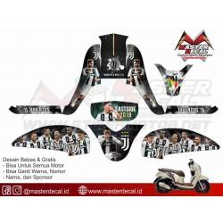 Stiker Motor Scoopy FI...