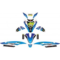 Stiker Yamaha Mio J rossi vr46