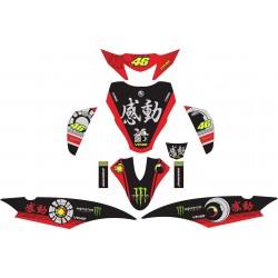 Stiker Yamaha Mio J Rossi...