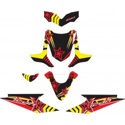 Stiker Motor beat Icon Star 2