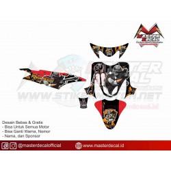 Stiker Yamaha Mio Sporty...
