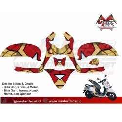 Stiker Motor All New Scoopy...
