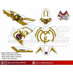 Stiker Yamaha Aerox 125 req