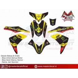 Stiker Yamaha MIO M3...