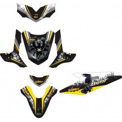 Stiker Motor Beat Batman 3