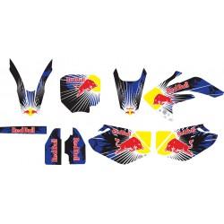 Stiker Motor CRF 150 Red Bull
