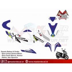 Stiker Motor All New Vario...